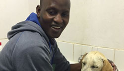 Alfred Nkhoma - Kennel assistant